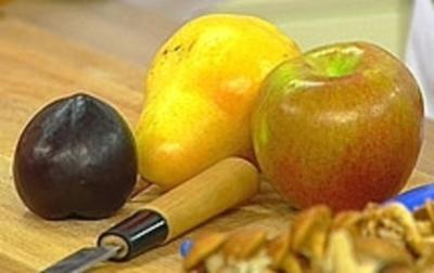 Rezept: Herbstlicher Obstsalat