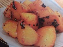Kandierte Süßkartoffeln aus Japan - Rezept