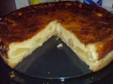 Apfelkuchen mit Marzipan-Guss - Rezept