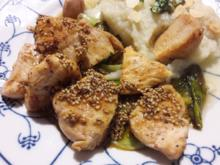 Verrücktes Huhn (guaiwei ji) - Rezept - Bild Nr. 2