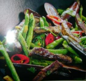 Wok:  Koreanische Rindfleischpfanne - Rezept