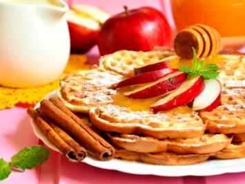 Apfel Zimt Waffeln - Rezept - Bild Nr. 2