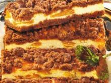 Käsekuchen mit Schoko Streuseln - Rezept