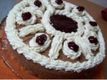 Preiselbeer-Schoko-Torte - Rezept