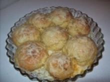Kartoffelbuchteln mit Zwiebelmett - Rezept