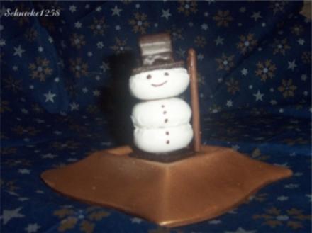Süßer Schneemann - Rezept