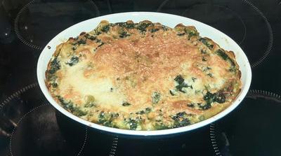 Spinat-Lachs-Lasagne - Rezept - Bild Nr. 3