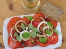 Tomatensalat, mediterran - Rezept