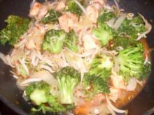 Lachspfanne mit Chili Sauce - Rezept