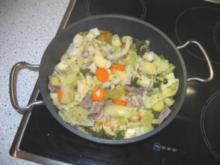 Gemüsetopf mit Fleischeinlage - Rezept