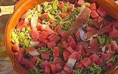 Fenchel-Melonensalat - Rezept