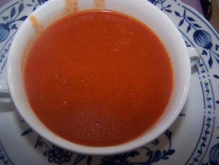 Tomatencreme-Suppe - Rezept