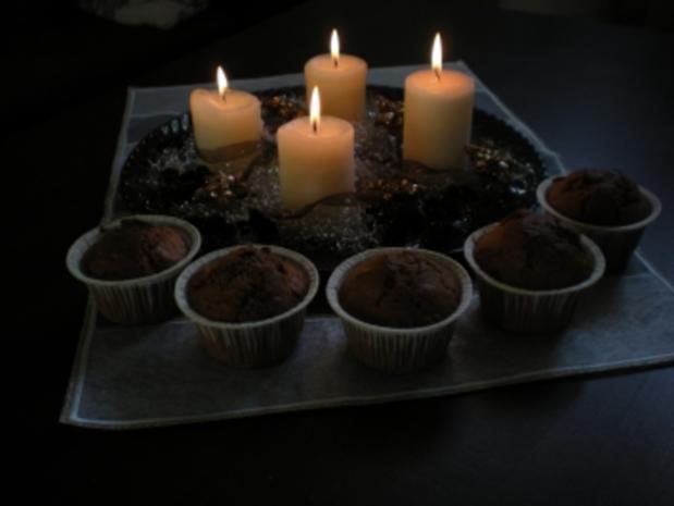 Weihnachtsmuffins - Rezept