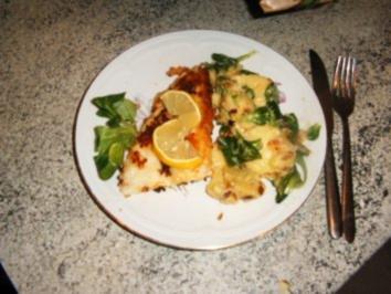 Kartoffelsalat mit Rapünzchen (Feldsalat ) und Speck - Rezept