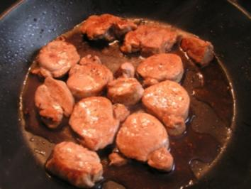 Schweinemedaillons in Balsamicosauce - Rezept