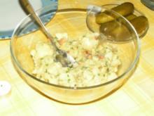 warmer Kartoffelsalat - Rezept
