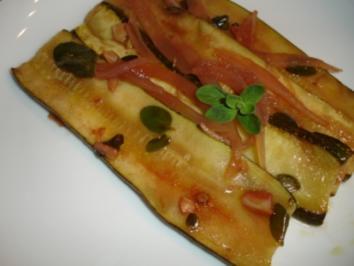 Rezept: Zucchini in feiner Marinade