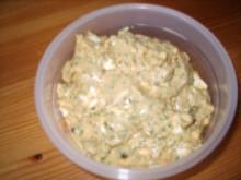 Fondue-Curry-Eier-Soße - Rezept