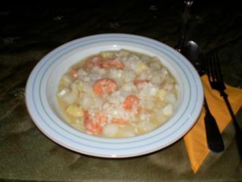 Spargelrisotto mit Krabben - Rezept