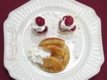 Französischer Apfelkuchen vom Blech mit Wölkchen - Rezept