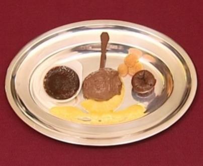 3 x V – Variationen von der Valrhona-Schokolade (Moritz Lindbergh) - Rezept