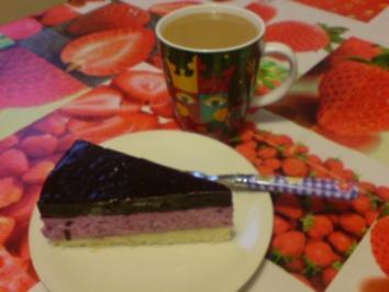 Blaubeer-Joghurt-Torte - Rezept - Bild Nr. 3