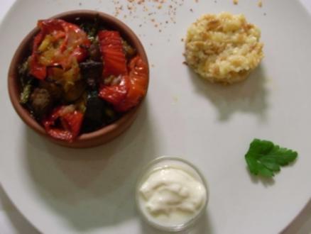 Anatolisches Lamm-Gemüse-Ragout mit Butterreis - Rezept