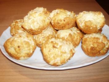 Speck-Zwiebel-Muffins - Rezept