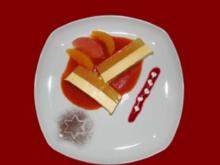 Orangen Panna Cotta mit Passionsfruchtspiegel - Rezept