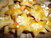 Plätzchen: Creme-fraiche-Sterne - Rezept