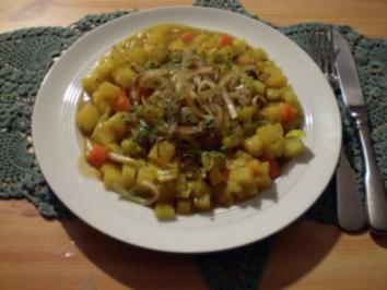 Curry-Steckrübeneintopf - Rezept