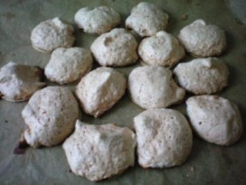 Orangen Kokos Makronen - Rezept