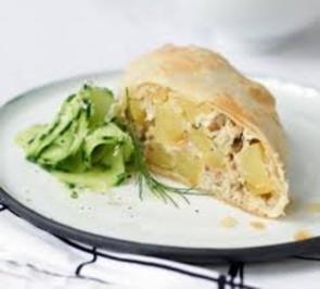 Pikantes Gebäck: Kartoffel-Strudel - Rezept