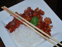 Hähnchenfilet nach Szechuan Art mit Hoisin-Sauce - Rezept