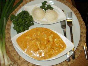 Curry-Hähnchen-Geschnetzeltes, auch ein tolles Partyrezept - Rezept
