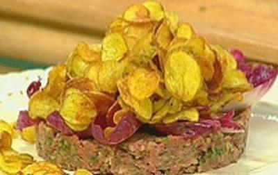 Rezept: Kalbstatar mit Oliven