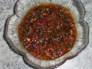 Scharfe Barbecue-Sauce - Rezept