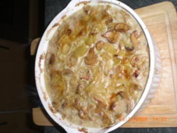 Schweinefilet in Senf-Zwiebelrahm - Rezept