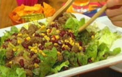 """Chili con Carne""-Salat - Rezept"