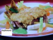 Gekochter Tafelspitz mit Semmelkren gratiniert - Rezept