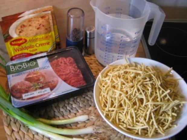 Hackfleisch-Spätzle-Suppe mit Waldpilzgeschmack - Rezept - Bild Nr. 4