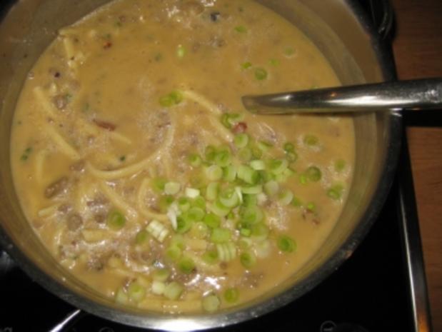 Hackfleisch-Spätzle-Suppe mit Waldpilzgeschmack - Rezept - Bild Nr. 8