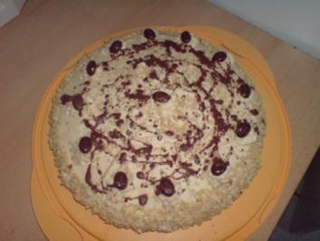 Mokka Sahne Torte - Rezept