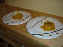 Huhn in Mandelsauce - Rezept