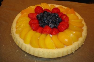 fettarmer Obstkuchen - Rezept