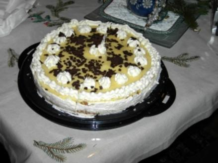 Apfel-Eierlikör-Torte - Rezept