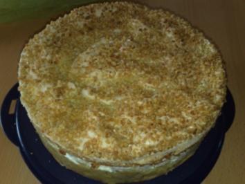 Stachelbeersahne Torte - Rezept