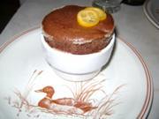 Schokoladen-Orangen-Souffle - Rezept
