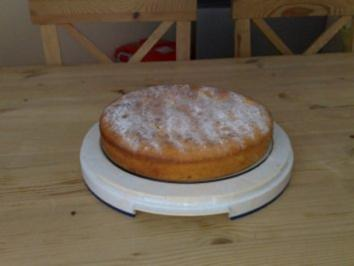 Kuchen/Torten: gedeckter Apfelkuchen - Rezept
