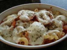 Tomaten-Käse-Nudeln - Rezept